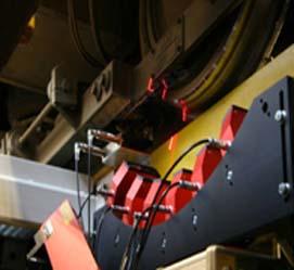 通过式在线激光轮对检测系统